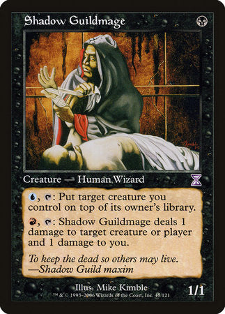 Shadow Guildmage [Time Spiral Timeshifted] | Mindsight Gaming