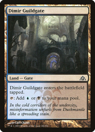 Dimir Guildgate [Dragon's Maze] | Mindsight Gaming
