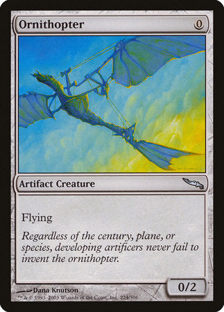 Ornithopter [Mirrodin] | Mindsight Gaming