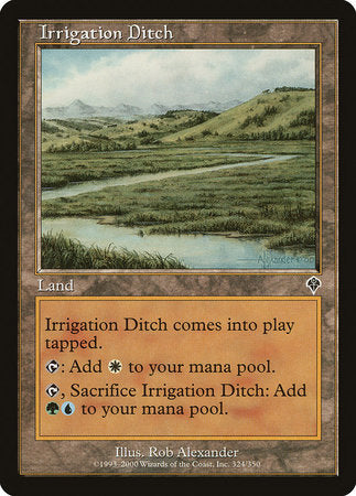 Irrigation Ditch [Invasion] | Mindsight Gaming