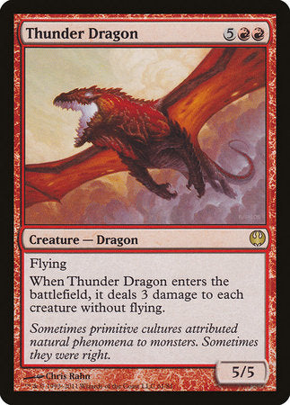 Thunder Dragon [Duel Decks: Knights vs. Dragons] | Mindsight Gaming