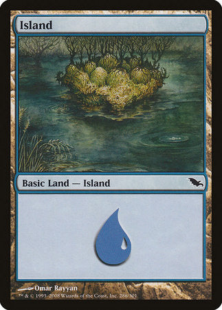 Island (286) [Shadowmoor] | Mindsight Gaming