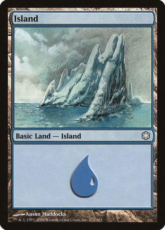 Island (372) [Coldsnap Theme Decks] | Mindsight Gaming