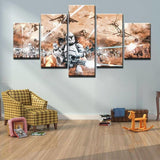 Star Wars Trooper Tableau Mural