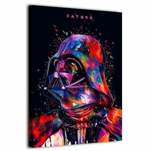 Tableau Dark Vador Star Wars Pop Art | Avenue des Tableaux