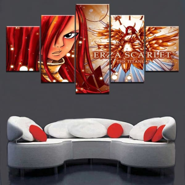 Tableau Fairy Tail Erza Scarlet