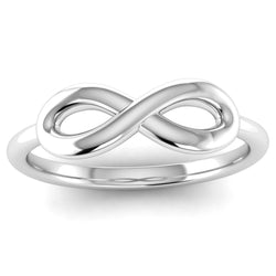 Infinity Symbol Ring - Jeweller's Loupe