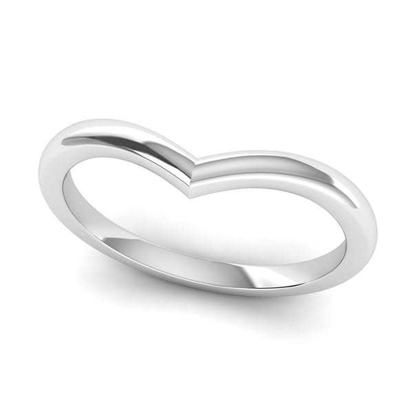 Fairtrade Silver Wishbone Ring, Jeweller's Loupe