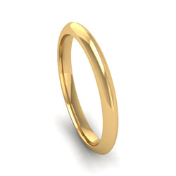 Fairtrade Gold DESIRE Triangle Band Stacking Ring - Jeweller's Loupe