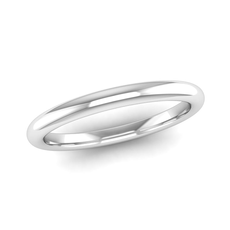 BELIEVE Rounded Band Stacking Ring - Jeweller's Loupe