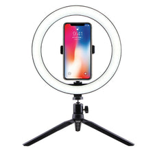 "Load image into Gallery viewer, 10"" LED Table Ring Light"