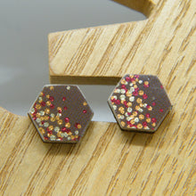 Load image into Gallery viewer, Apple Cider Stud Earrings