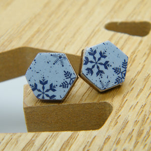 Snowbound Stud Earrings