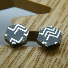 Load image into Gallery viewer, Broken Arrow Stud Earrings