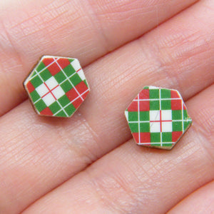 Christmas Socks Stud Earrings