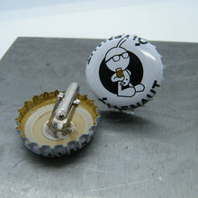 Load image into Gallery viewer, Beer bottle cufflinks - Õllenaut Suitsu Porter