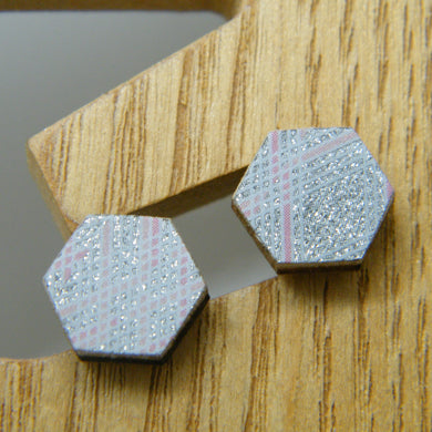 Diamond Dust Stud Earrings