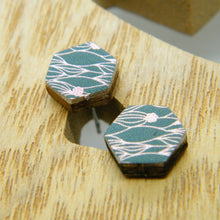 Load image into Gallery viewer, Enchanted Meadow stud earrings