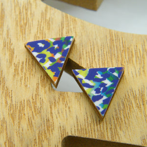 Funky Cheetah stud earrings