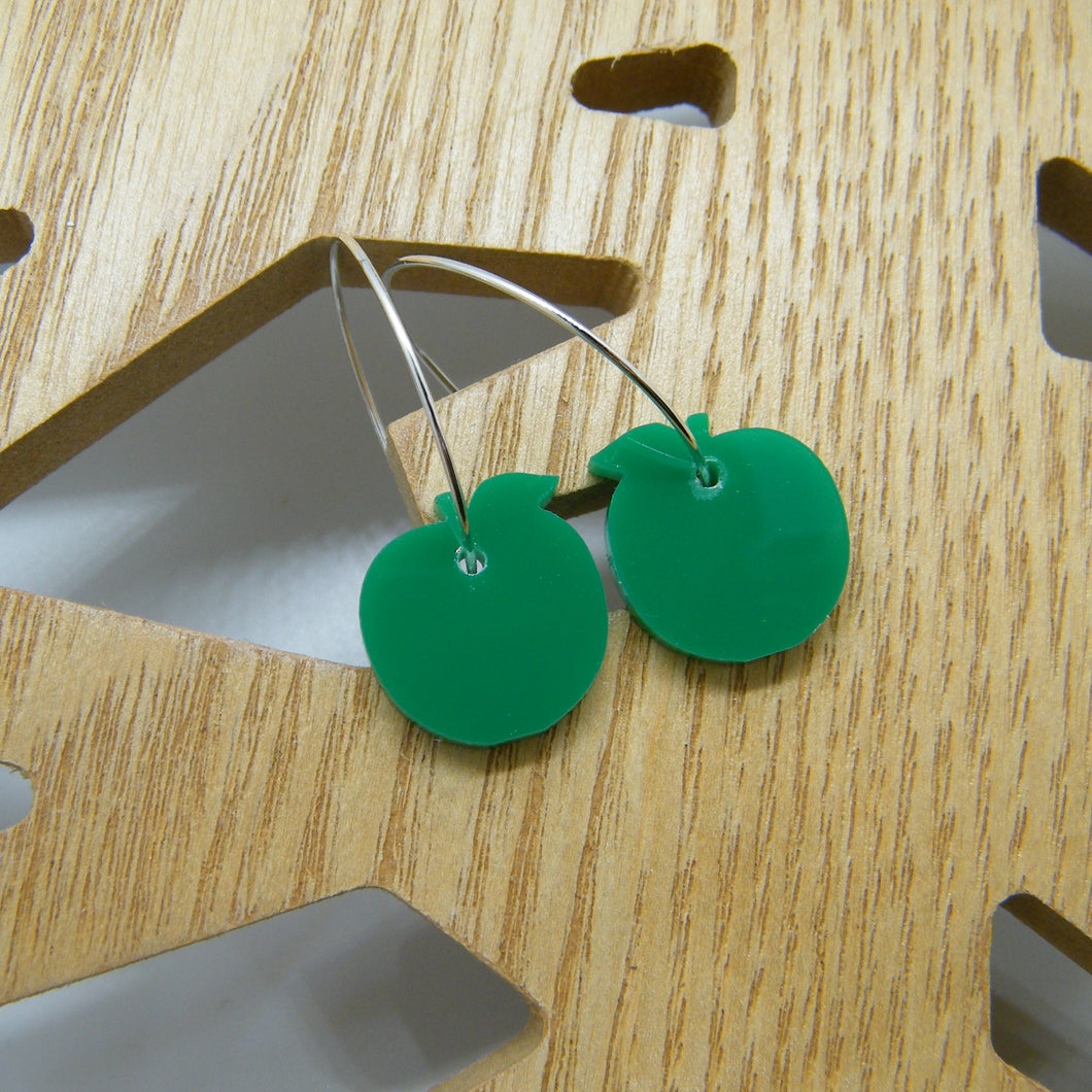 Green apple hoops