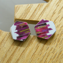 Load image into Gallery viewer, New York Minute Stud Earrings