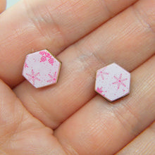 Load image into Gallery viewer, Snowbound Stud Earrings