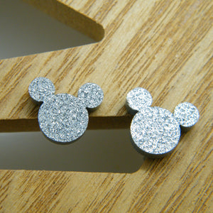 Mouse ears studs (multiple colours available)