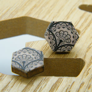 Victorian Lace Stud Earrings