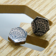 Load image into Gallery viewer, Victorian Lace Stud Earrings