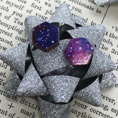 Supernova stud earrings