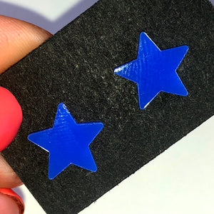 Star stud earrings (multiple colours available)