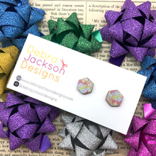 Load image into Gallery viewer, Jewellery box stud earrings