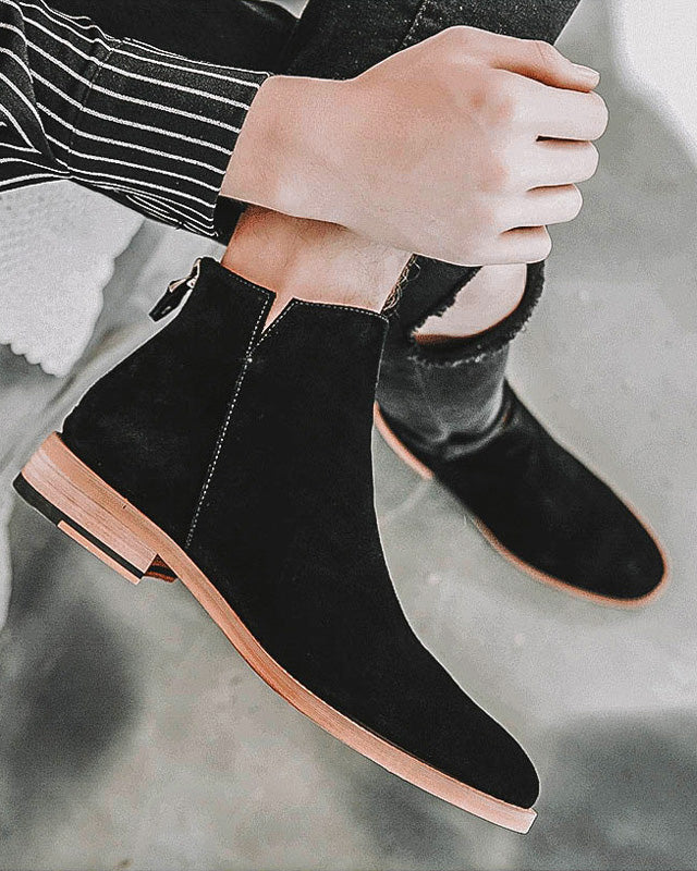 Leather Chelsea Boots - Cody - Alexandre León | black