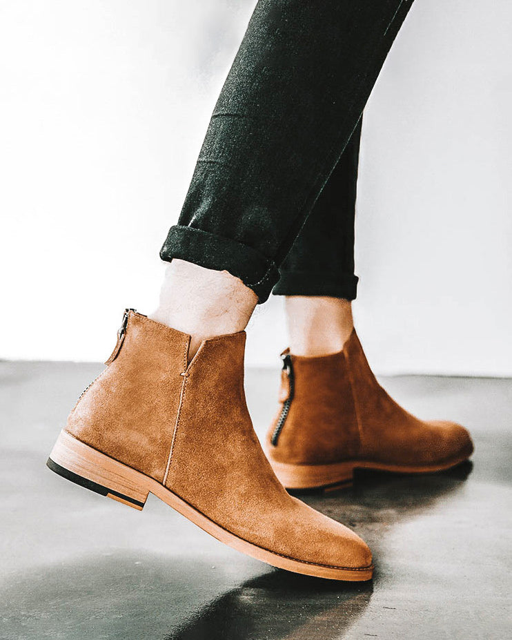 Leather Chelsea Boots - Cody - Alexandre León | brown