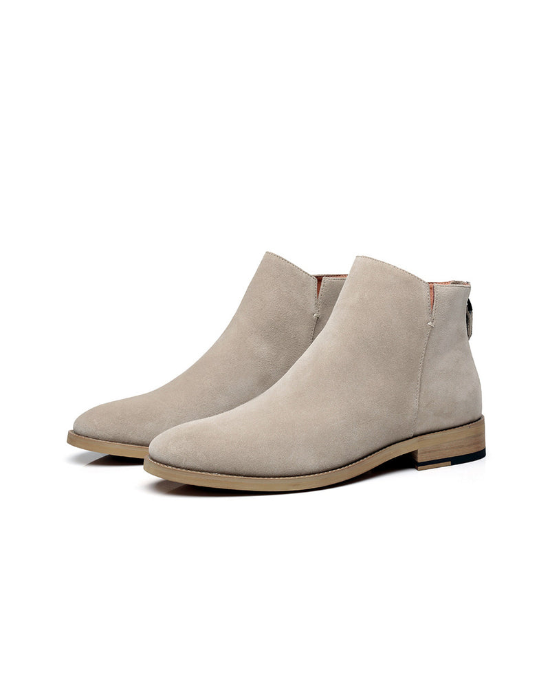 mens-Leather Chelsea Boots - Cody [Tan] - Alexandre León