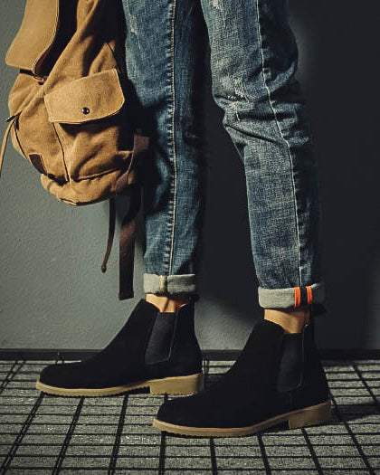Leather Chelsea Boots - Jason - Alexandre León | black