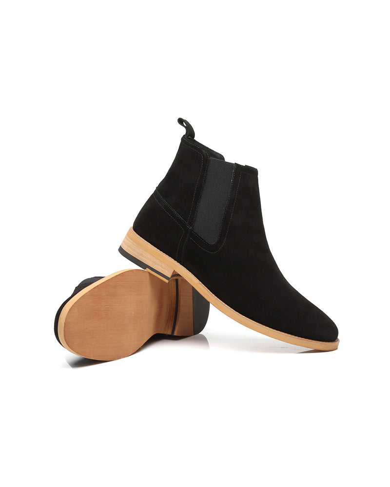 Leather Chelsea Boots - Thomas - Alexandre León | black