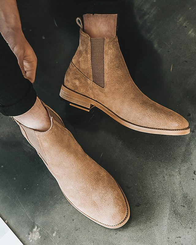 Leather Chelsea Boots - Thomas - Alexandre León | brown