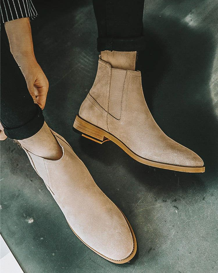 Leather Chelsea Boots - Thomas - Alexandre León | tan