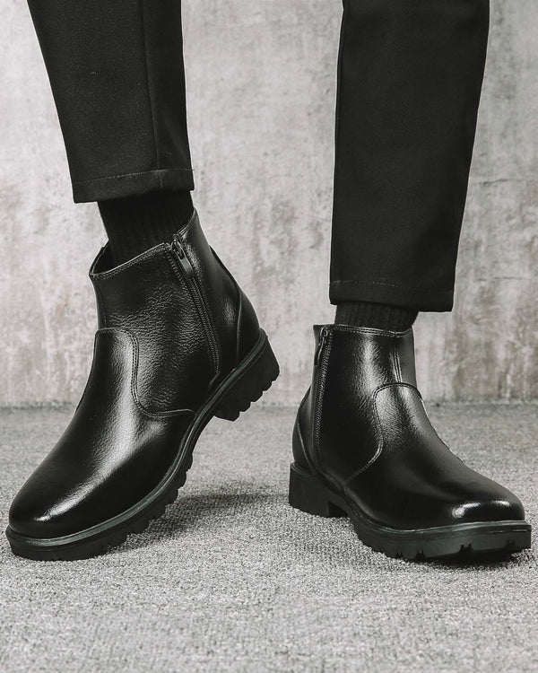 Leather Chelsea Boots - Zayn - Alexandre León | black
