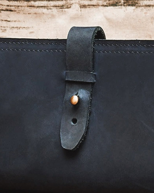 Leather Wallet - Gabin [Blue]