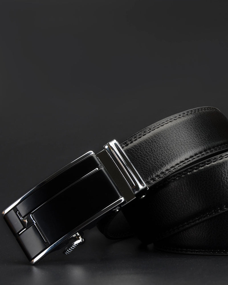 Leather Belt - Augustin [Black]
