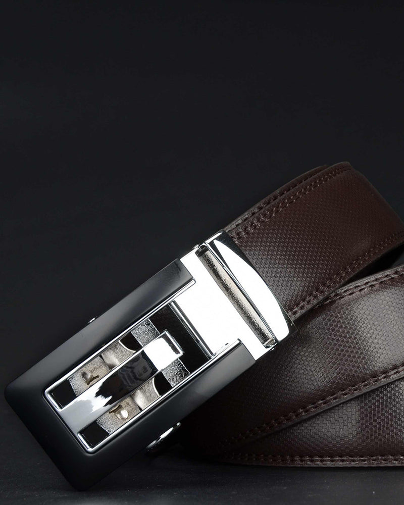 Leather Belt - Clement [Coffee Brown]