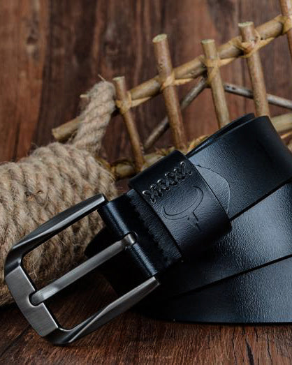 Leather Belt - Côme [Black]