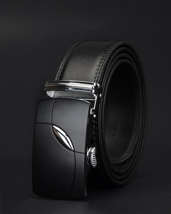Leather Belt - Gaspard [Black]