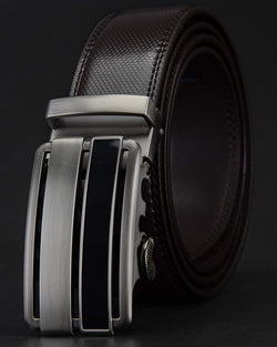 Leather Belt - Ismael [Coffee Brown]