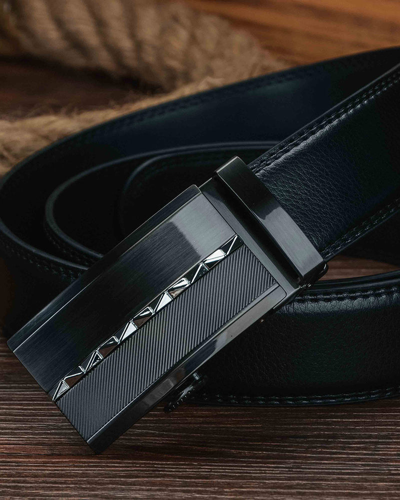 Leather Belt - Jules [Black]