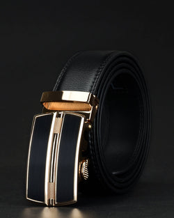 Leather Belt - Rayan [Black]