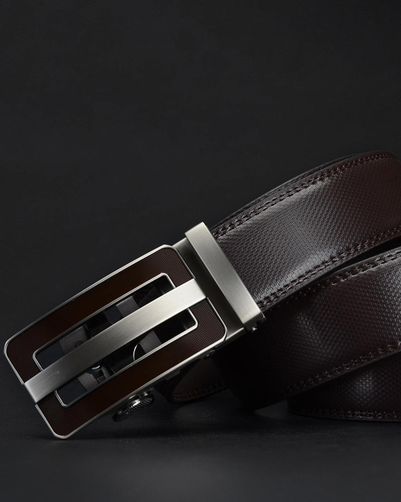 Leather Belt - Timothée [Coffee Brown]