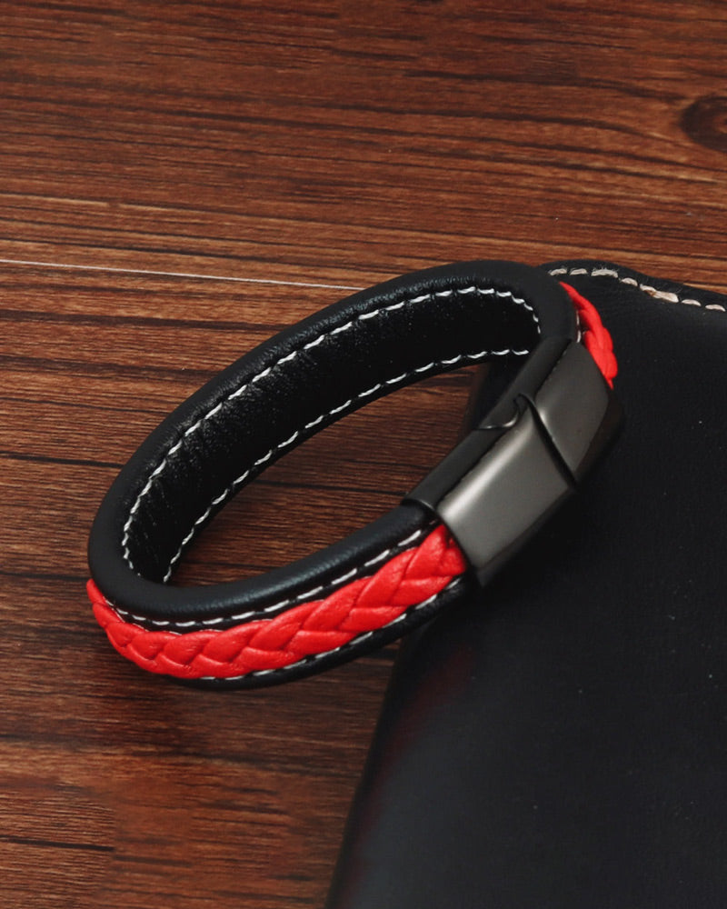 Leather Bracelets - Jack [Black]